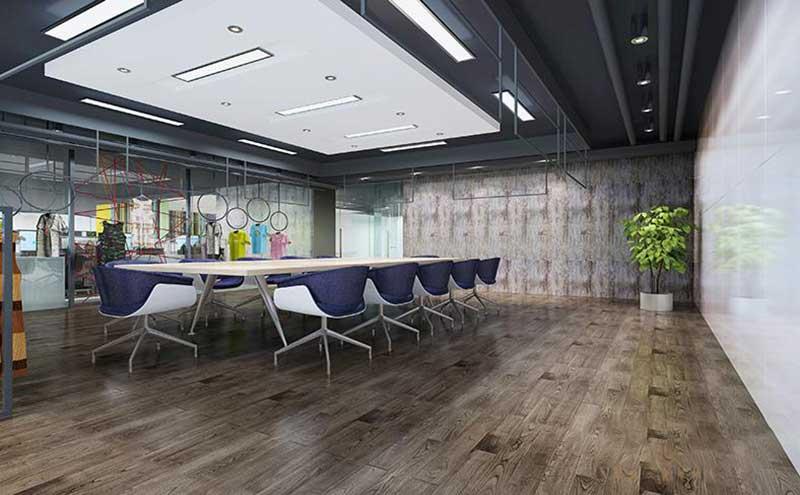 南京绿地之窗办公室装修现代风格