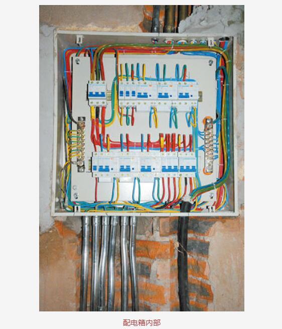 二次装修没重新规划电路,换了配电箱也白换回路设计是很专业的  装修知识  第1张