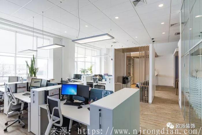 小型办公室装修设计案例  行业动态  第4张