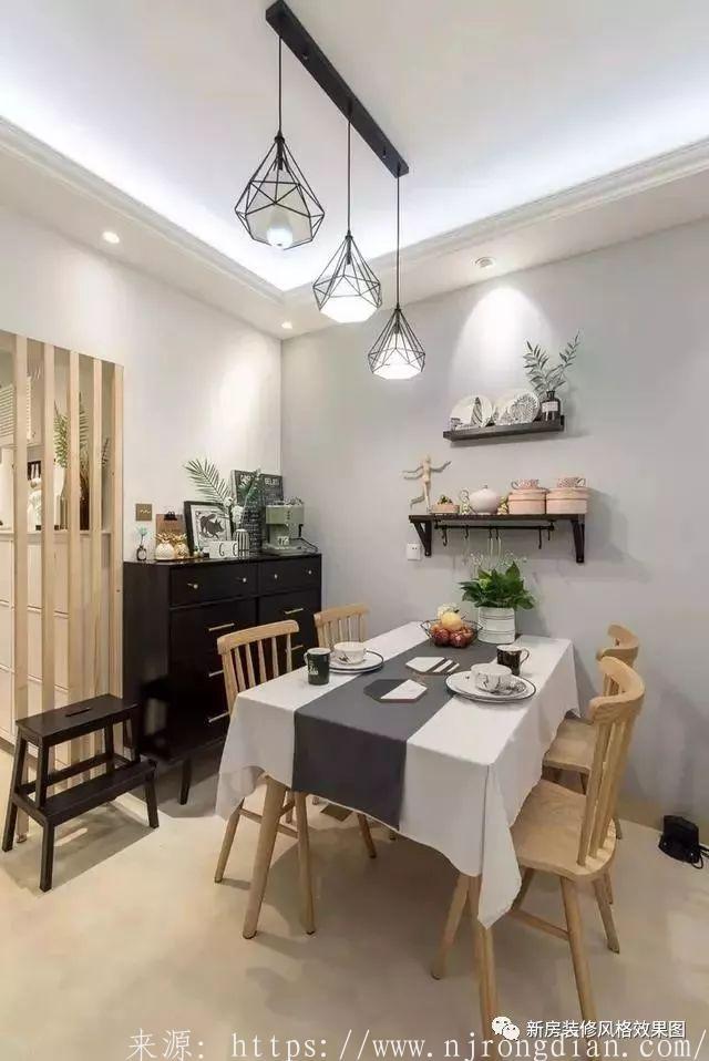 90平北欧新家,客餐厅装修美极了,唯独厨房有一大败笔!  行业动态  第3张