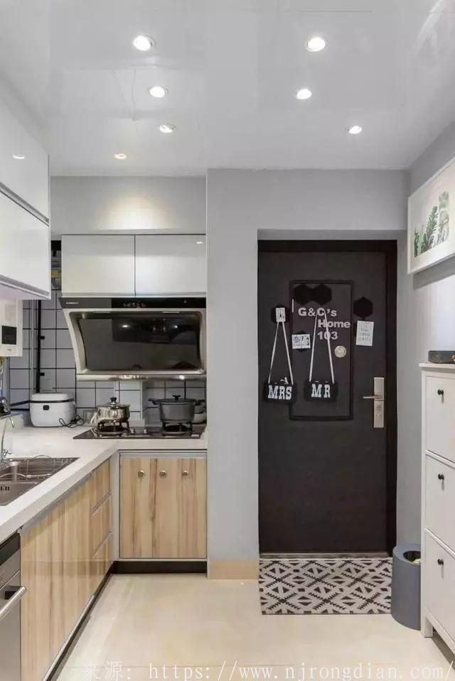 90平北欧新家,客餐厅装修美极了,唯独厨房有一大败笔!  行业动态  第7张