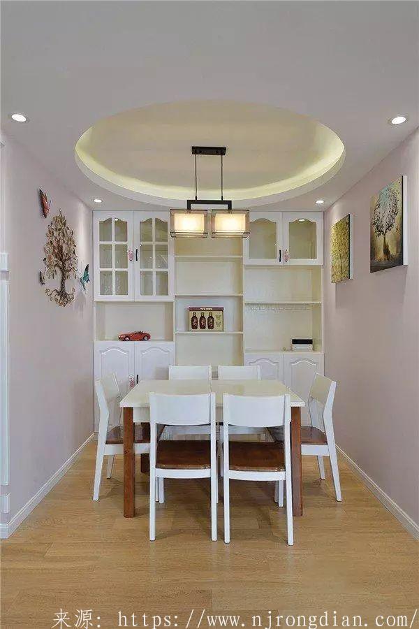 85平两室新房,餐厅装修的太漂亮了,儿童房飘窗更实用!  行业动态  第8张