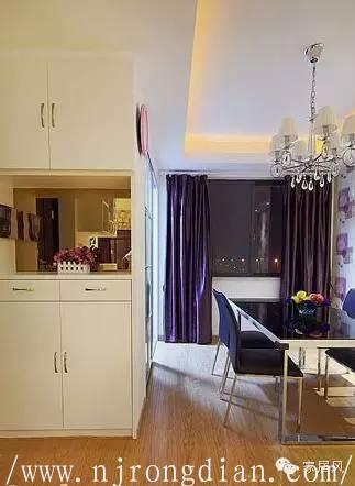 最省钱旧房装修 两室两厅紫色简约风  行业动态  第2张