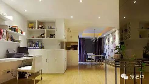 最省钱旧房装修 两室两厅紫色简约风  行业动态  第5张