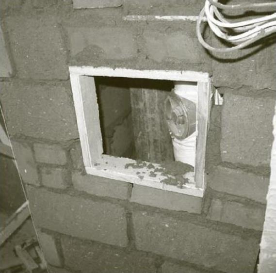 卫生间下水管包管,阀门处要留检修孔  装修知识  第1张